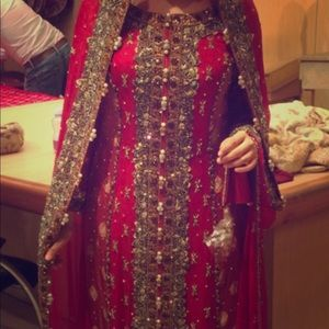 Pakistani/Indian Bridal wedding dress